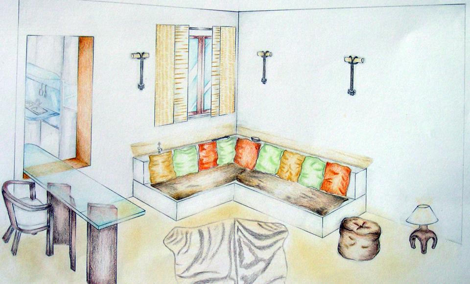 Vivy Design » Blog Archive » Arredo di un soggiorno stile etnico-tribale