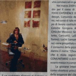 Pubblicazione su La Sicilia 10.12.2010