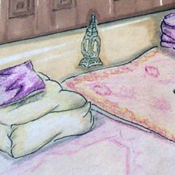 Progettazione di un arredo in stile arabo