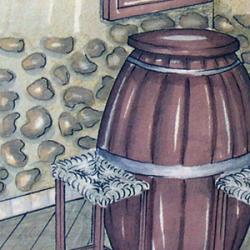 Progettazione di un arredo in stile bavarese