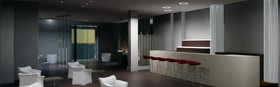 progetto di un hotel per concorso d'idee