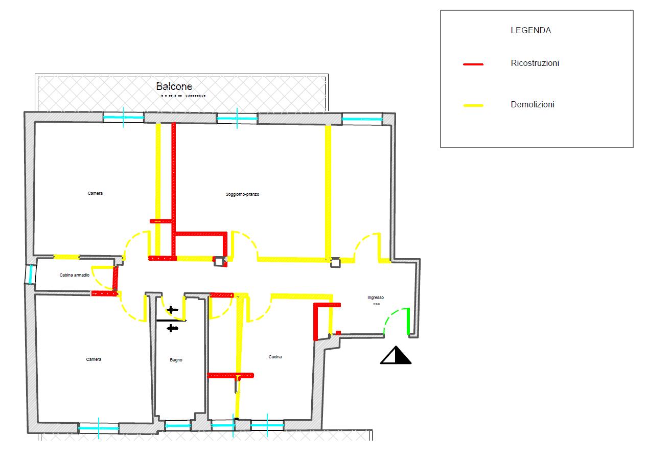 Vivy design blog archive appartamento open space for Planimetrie architettoniche