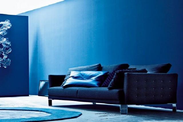 Camera da letto blu cool with camera da letto blu ditte camere da letto economiche idee per - Camera da letto blu notte ...